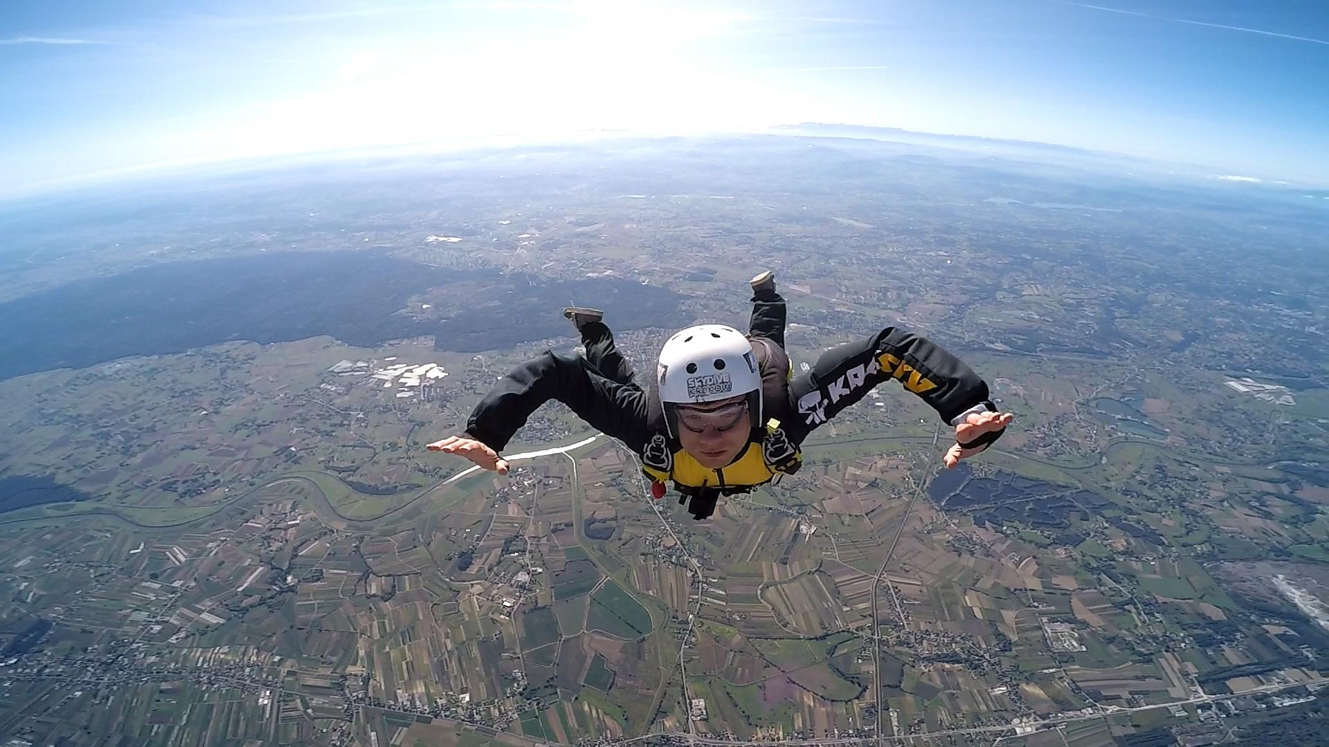 skoki na spadochronie kraków 217