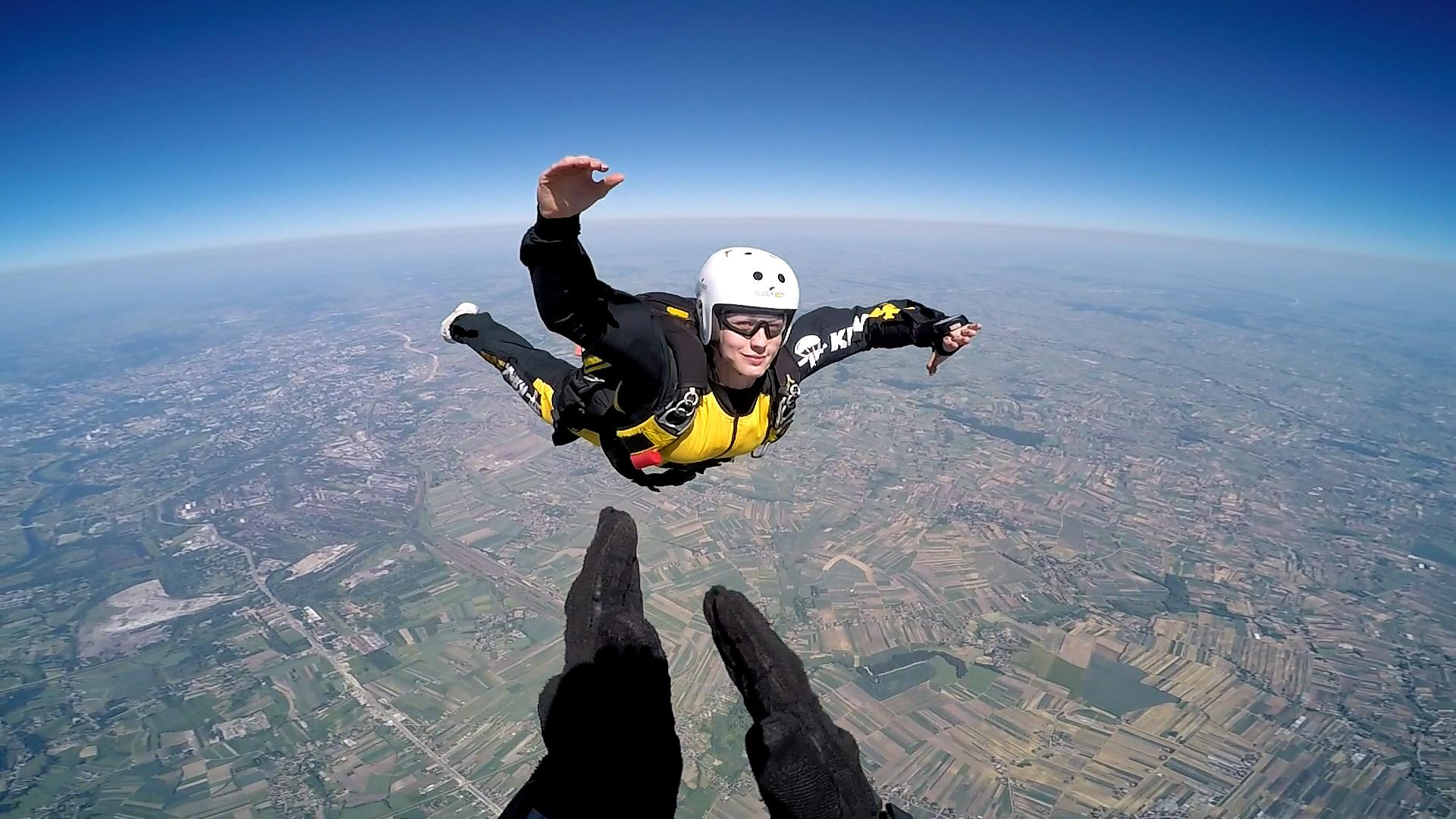 skoki na spadochronie kraków