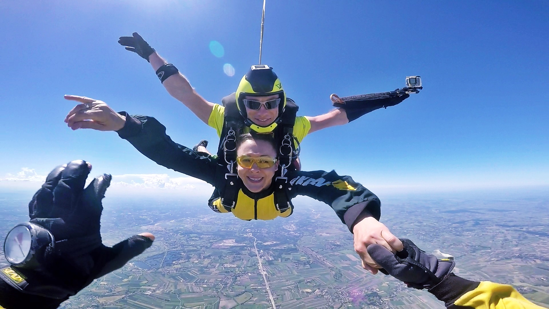 skoki na spadochronie tandem kraków 45