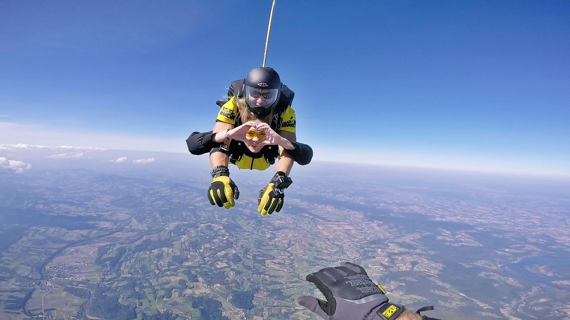 skoki na spadochronie tandem kraków 25