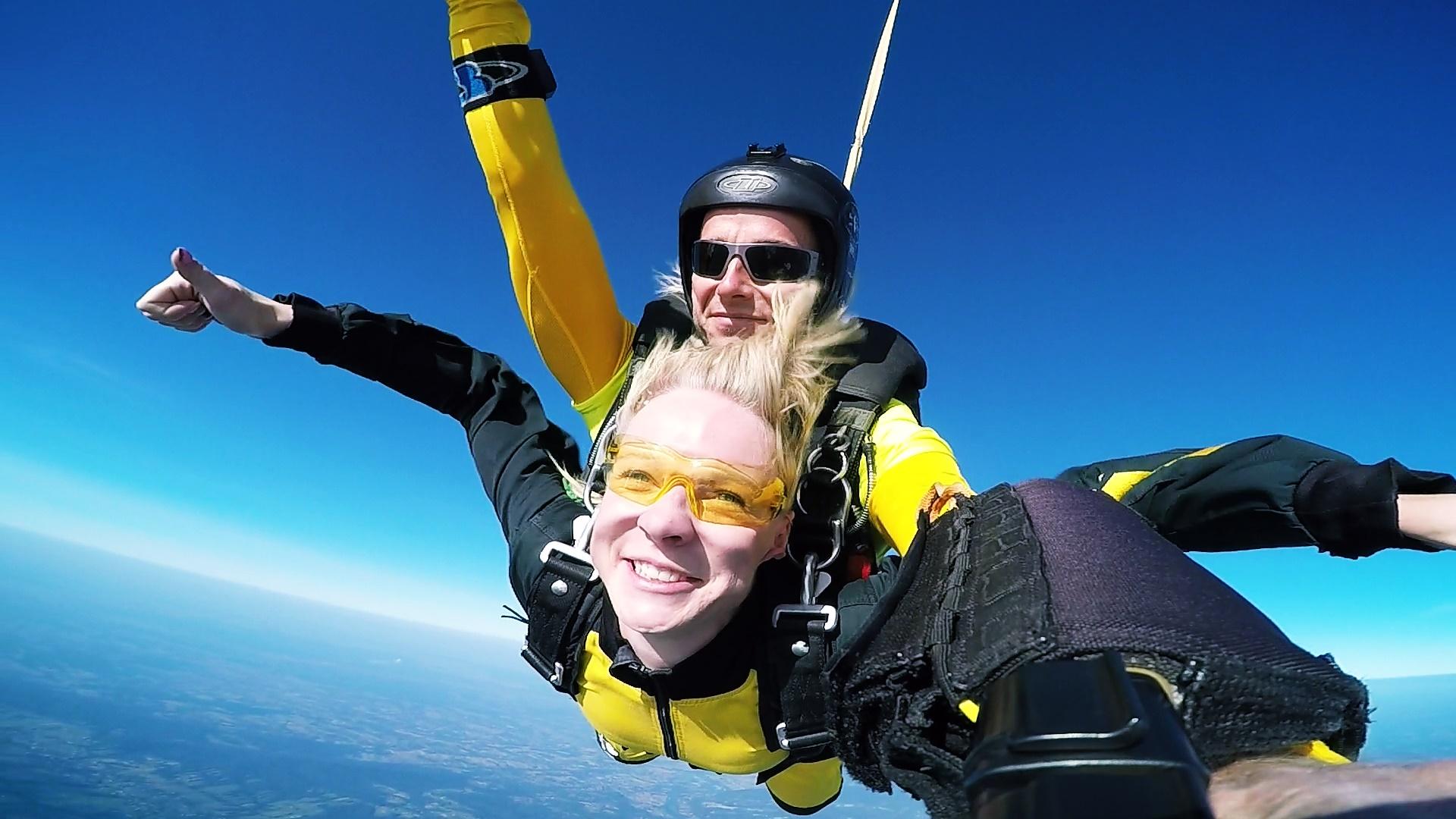 skoki na spadochronie tandem kraków 213132