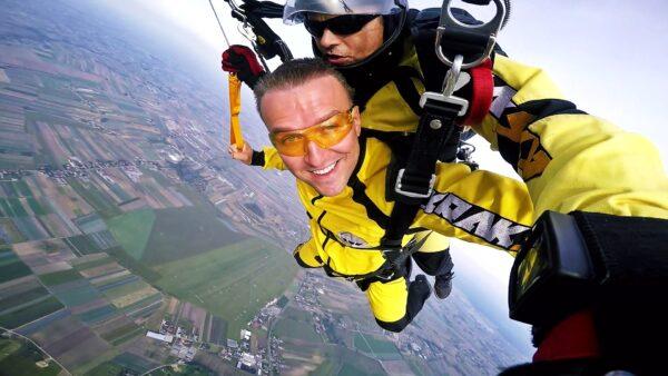 skoki na spadochronie tandem kraków 1566556