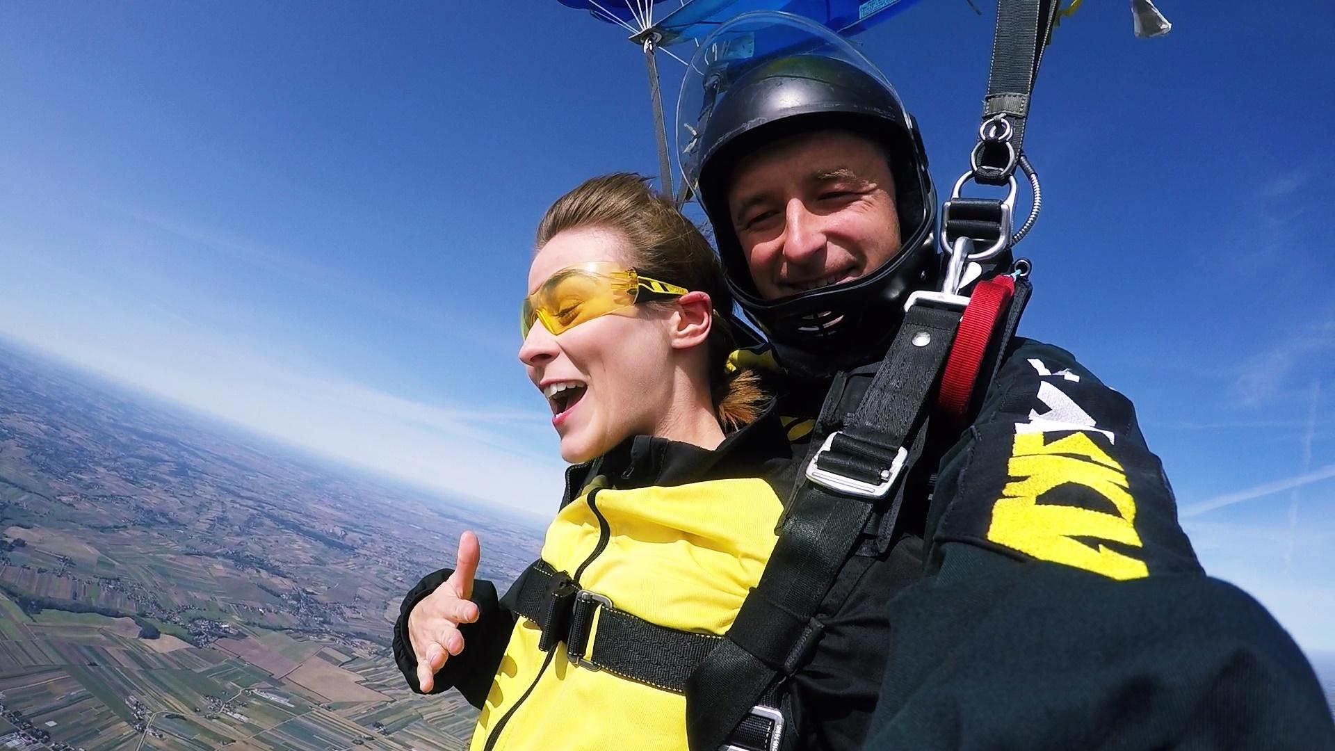 skoki na spadochronie tandem kraków 42