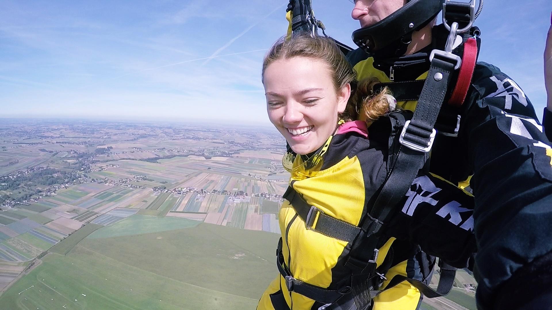 skoki na spadochronie tandem kraków 165