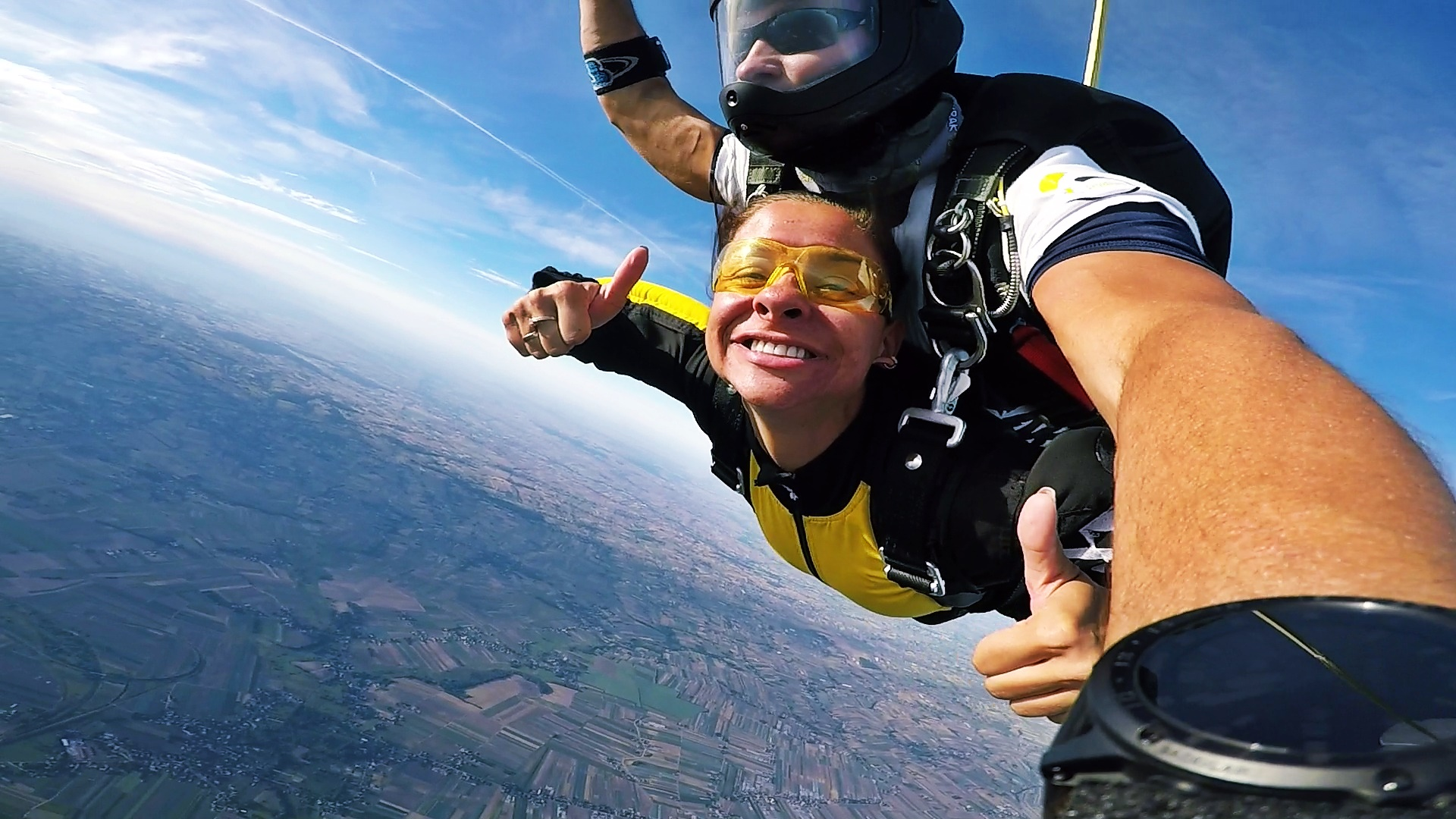 skoki na spadochronie tandem kraków wdsf