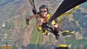 skoki na spadochronie kraków 140
