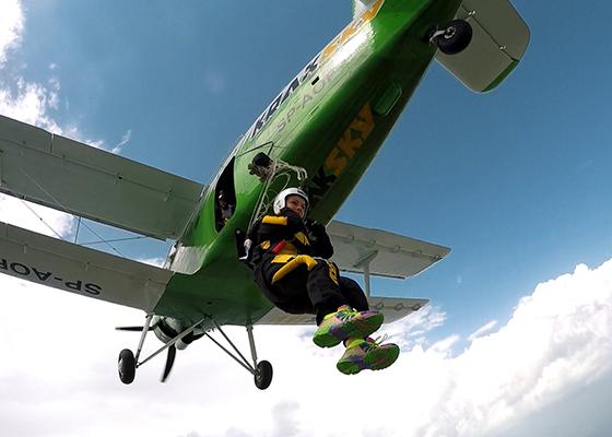 skoki na spadochronie kraków 195