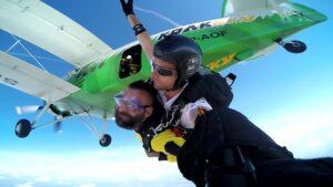 skoki na spadochronie kraków 80
