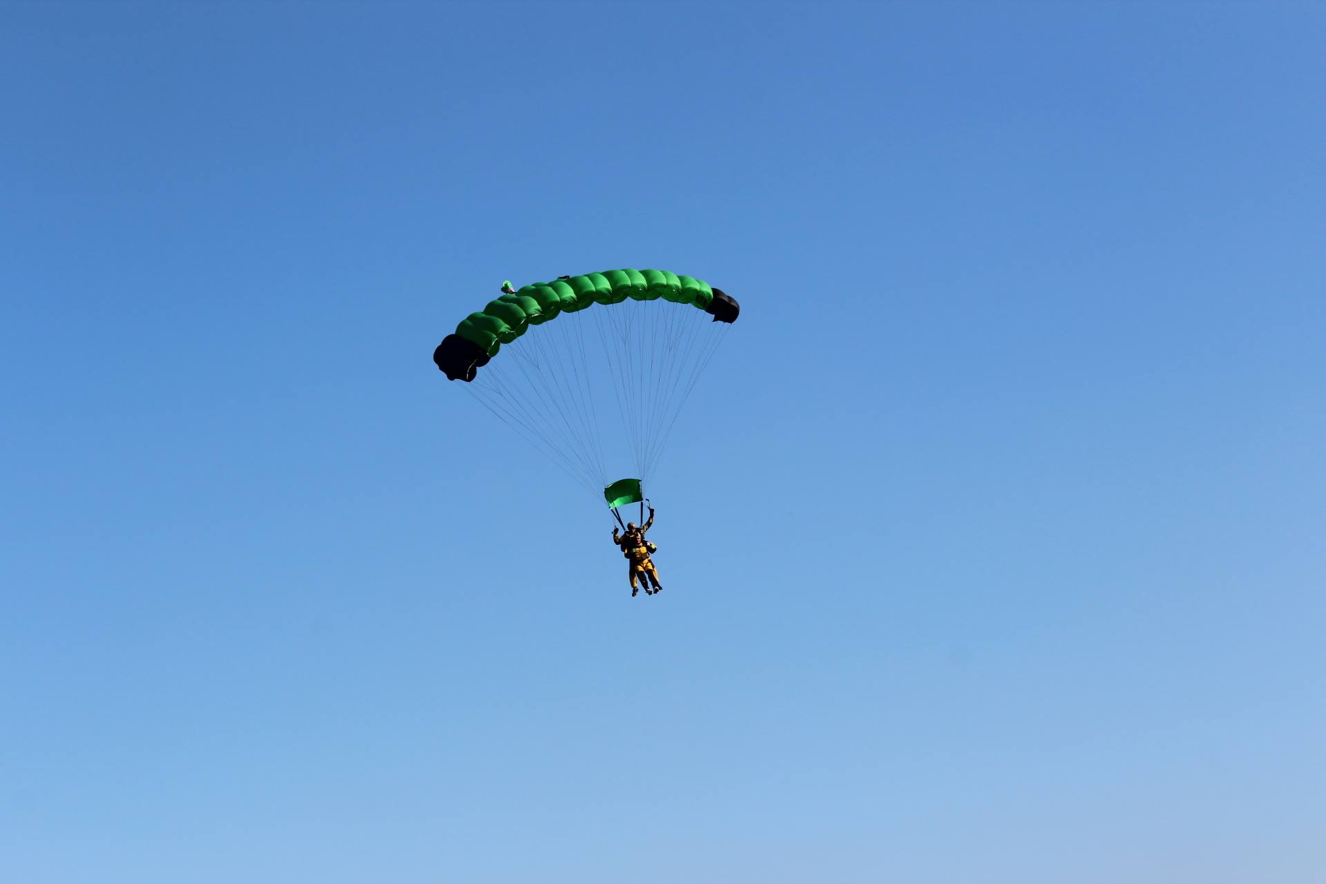 skoki na spadochronie w parze kraków
